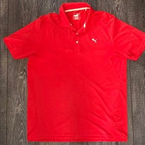 GREAT CONDITION PUMA GOLF POLO SIZE LARGE